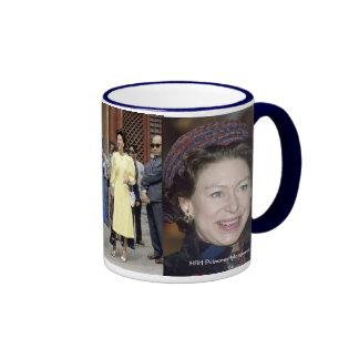Princesa Margaret de HRH Taza De Dos Colores