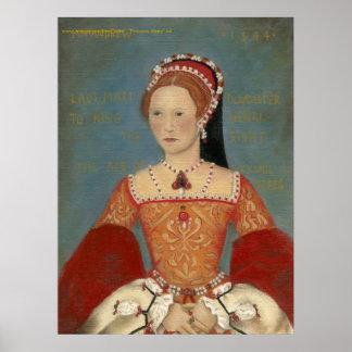 Princesa Maria Portrait Poster o impresión de la b