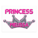Princesa Melissa Tarjeta Postal