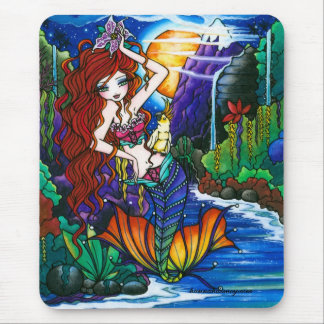Princesa Mermaid Cockatoo Fairy de Maui Tapete De Ratones