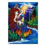 Princesa Mermaid Fairy Cockatoo Card de Maui Tarjeta De Felicitación