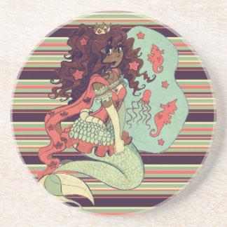 Princesa Mermaid Posavasos Manualidades