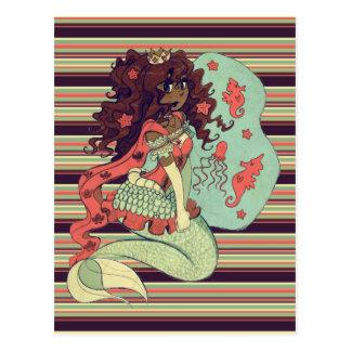 Princesa Mermaid Postal