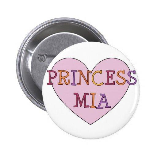 Princesa Mia Pin Redondo 5 Cm