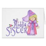 Princesa Middle Sister Felicitacion