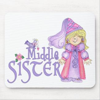 Princesa MIddle Sister Alfombrilla De Ratones