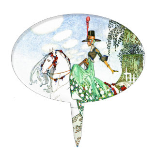 Princesa Minotte de Kay Neilsen Figura De Tarta