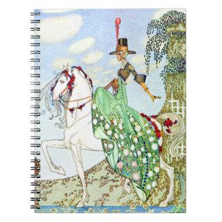 Princesa Minotte de Kay Neilsen Libros De Apuntes