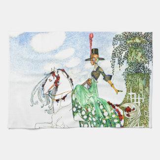 Princesa Minotte de Kay Neilsen Toallas