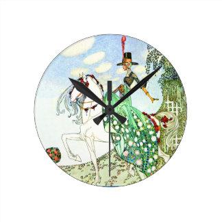 Princesa Minotte de Kay Neilsen Relojes De Pared
