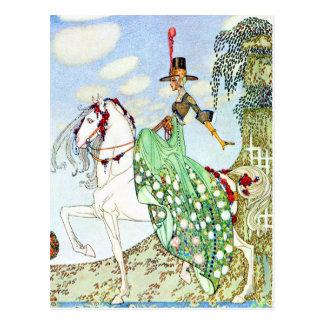 Princesa Minotte de Kay Neilsen Tarjetas Postales