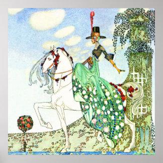Princesa Minotte de Kay Nielsen Poster