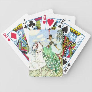 Princesa Minotte del cuento de hadas de Kay Nielse Baraja Cartas De Poker