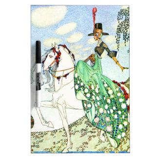 Princesa Minotte del cuento de hadas de Kay Nielse Pizarras Blancas