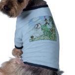 Princesa Minotte del cuento de hadas de Kay Nielse Camisetas De Perro