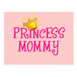 Princesa Mommy T-shirts, regalos Tarjetas Postales