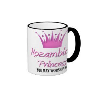 Princesa mozambiqueña taza
