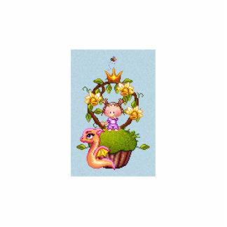 Princesa Muffin Pin Fotoescultura