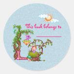 Princesa Muffin y arte del pixel de los amigos Pegatina Redonda