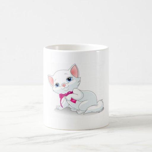 Princesa Mug del gatito Taza De Café
