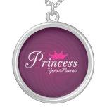 Princesa Necklace Colgante Personalizado