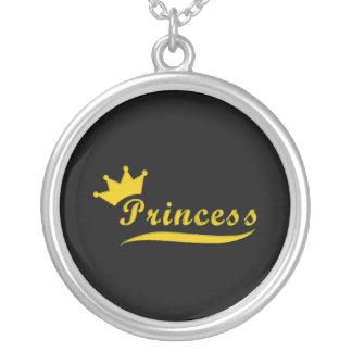 Princesa Necklace Colgante Redondo