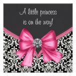 Princesa negra rosada elegante fiesta de anuncios personalizados