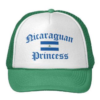 Princesa nicaragüense gorras
