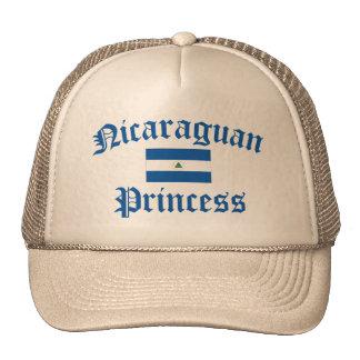 Princesa nicaragüense gorro