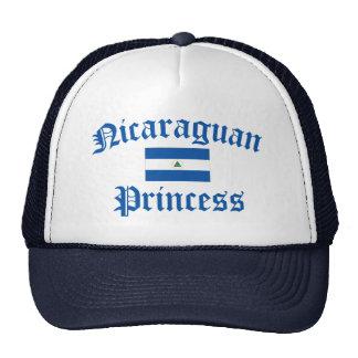 Princesa nicaragüense gorros