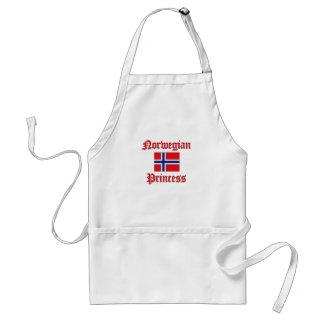 Princesa noruega delantal