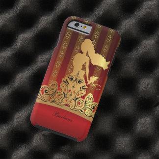 Princesa nupcial de oro Tiara Crown Funda Resistente iPhone 6