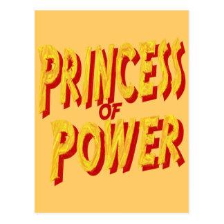 Princesa Of Poder-Postal