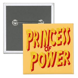Princesa Of Power-Button Pins