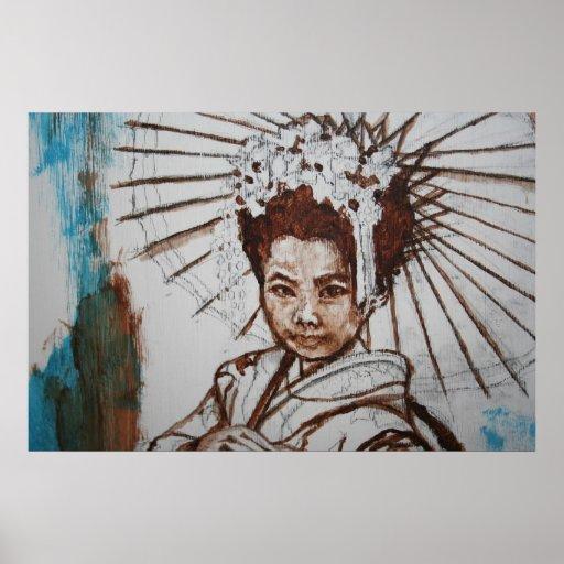 Princesa oriental póster