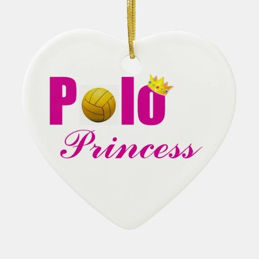Princesa Ornament del polo Adorno Navideño De Cerámica En Forma De Corazón