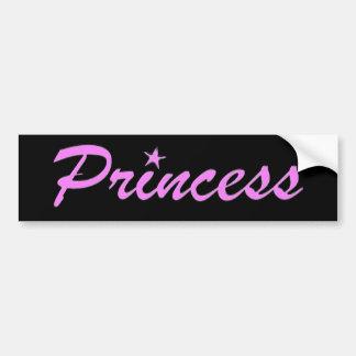 Princesa Pegatina Para Auto