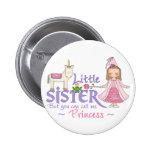 Princesa pequeña hermana del unicornio pin