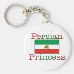 Princesa persa Flag Llaveros Personalizados
