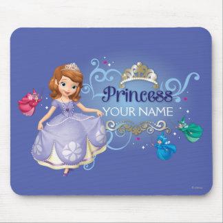 Princesa personalizada 2 mouse pads