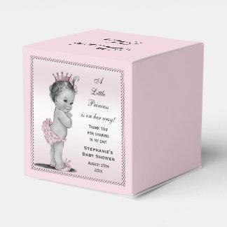 Princesa personalizada Baby Thank You del vintage Caja Para Regalo De Boda