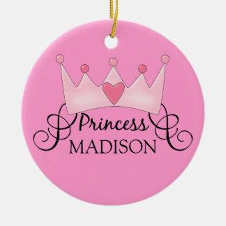 Princesa personalizada Christmas Ornament Ornamento De Reyes Magos