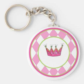 Princesa personalizada llavero redondo tipo pin