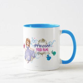 Princesa personalizada taza