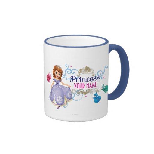 Princesa personalizada tazas