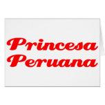 Princesa Peruana Cards