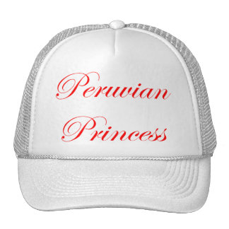 Princesa peruana gorro