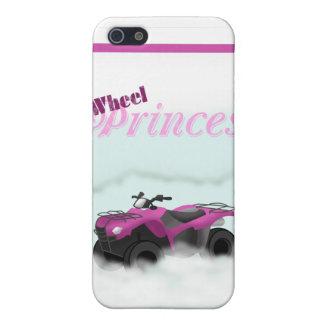 Princesa Phone Case de 4 ruedas iPhone 5 Funda
