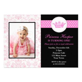 Princesa Photo Birthday Invitations Comunicados Personales