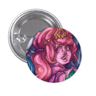 Princesa Pin del caramelo Pin Redondo 2,5 Cm